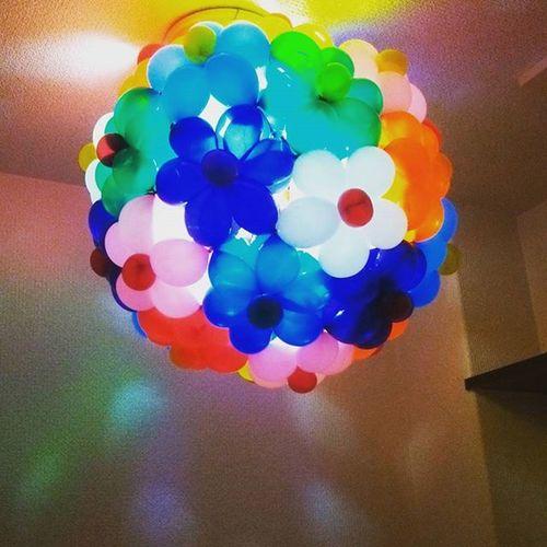 バルーン 照明 バルーンアート 風船 バルーンの照明 影 花 カラフル キレイ Balloonart Balloon BalloonArtist Lights Flower Amazing Shadow Colorful 私の仕事 Myworld Myworks Instalike Like4like Instagood Like Love lovers_nippon_artistic art