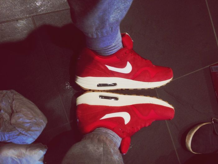 Airmax Nike Air Red&white Style