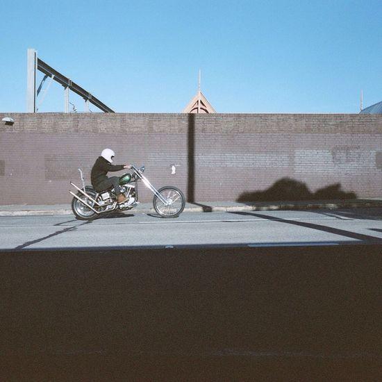 Sydenham Throttleroll Mamiya7ii Sydney, Australia Australia Motorbike Expired Film Medium Format Newsouthwales Innerwest