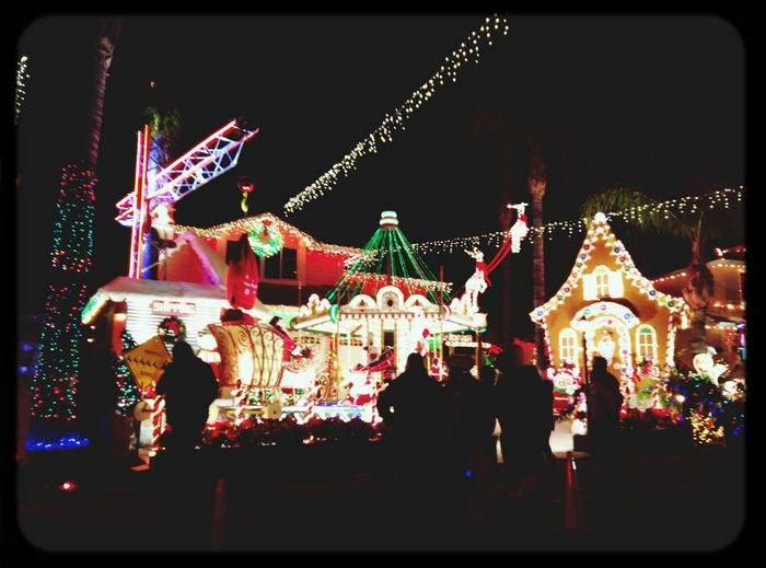 Gingerbread Carousel Christmas Lights Santa Clarita