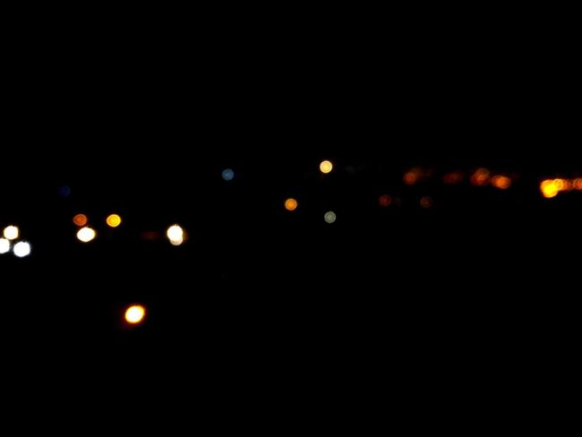 Night Sky No People Illuminated Moon Outdoors Black Background Astronomy Space Defocused Nature Mobility In Mega Cities