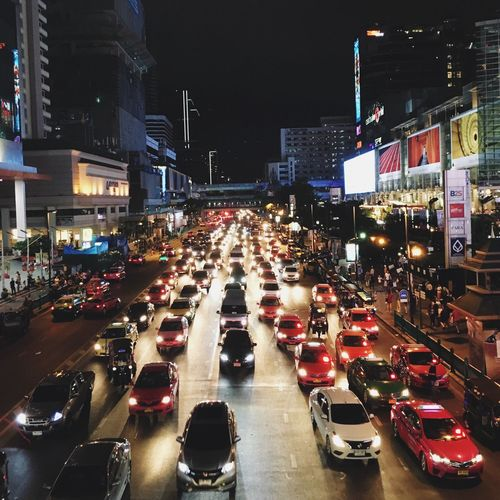 Traffic jam in Bangkok First Eyeem Photo