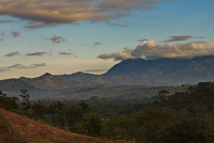 Sunset on Mt Munsun in northern Nicaragua Central America Cloud Nicaragua Forest Landscape Mountain Mountain Range Mt Munsu Nature No People Outdoors Scenics Sky Sunset