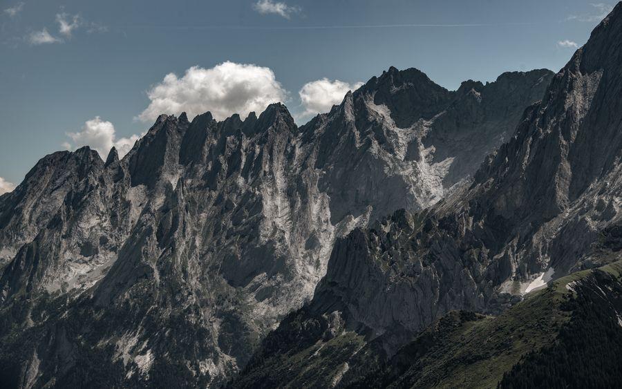 Engelhörner Cloud - Sky Environment Formation Geology Grosse Scheidegg Landscape Mountain Mountain Peak Mountain Range Nature Outdoors Physical Geography Rock Rock - Object Swiss Alps The Great Outdoors - 2018 EyeEm Awards