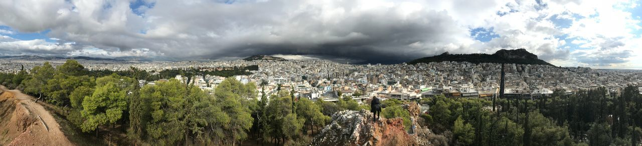 Athen EyeEm Selects Cloud - Sky Sky Nature Mountain Beauty In Nature Day Panoramic Architecture