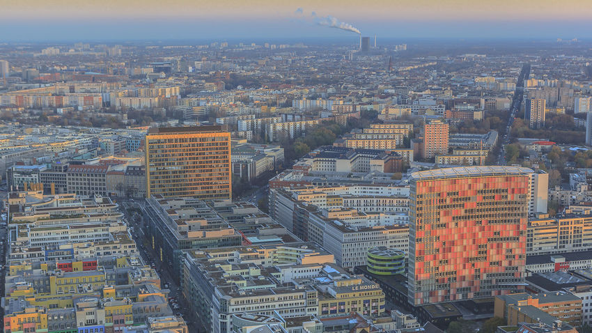 Aerial View Architecture Berlin Building Exterior City Cityscape Day No People Outdoors Skyscraper Tower Travel Destinations View