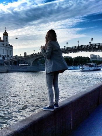 Daria Moscow Moscow River