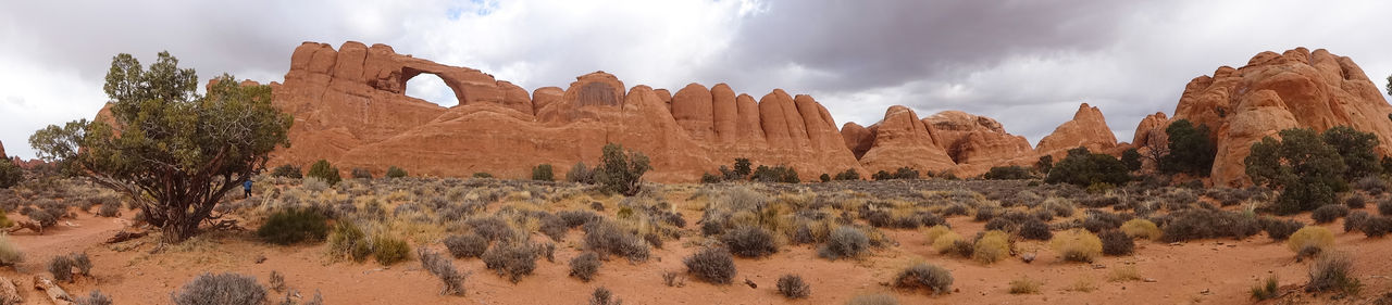 desert arid climate Arid Climate Beauty In Nature Climate Cloud - Sky Desert Environment Eroded Formation Geology Land Landscape Nature No People Non-urban Scene Panoramic Plant Rock Rock - Object Rock Formation Scenics - Nature Semi-arid Sky Solid Travel Travel Destinations