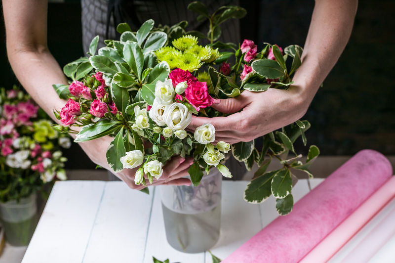 Florist at
