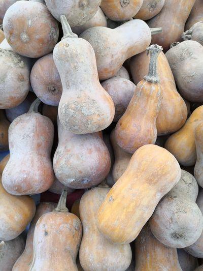 Full frame shot of potatoes in market