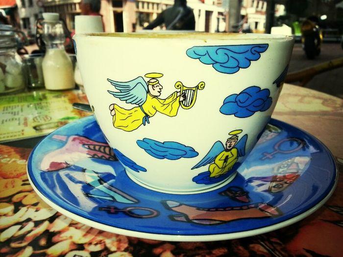 Coffee Angel Engel Koffie
