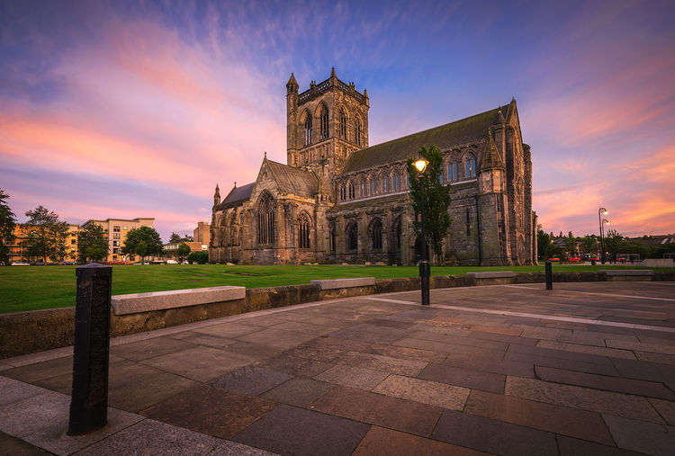 Paisley Abbey History Architecture Travel Destinations Scotland Sunlight Sunsetporn Architecture