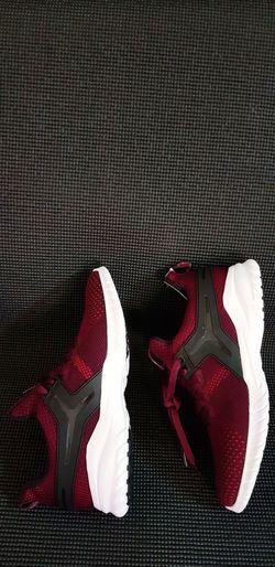 Golf Club Red Textile Shoe Close-up
