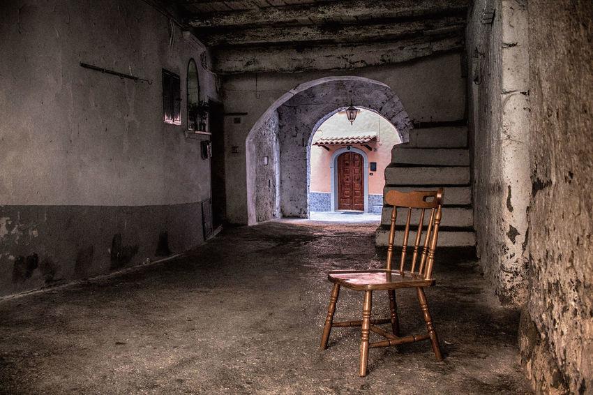 Borgo di Cascano Terra Di Lavoro Arch Architecture Borghi D'Italia Borghiitaliani Borghipiúbelliditalia Built Structure Chair Day Indoors  No People