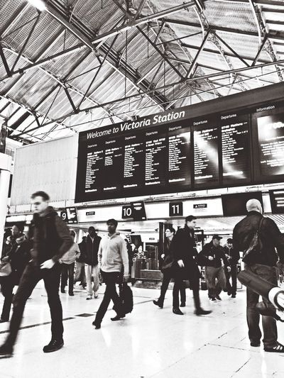 tired London Train Station England Streetphotography