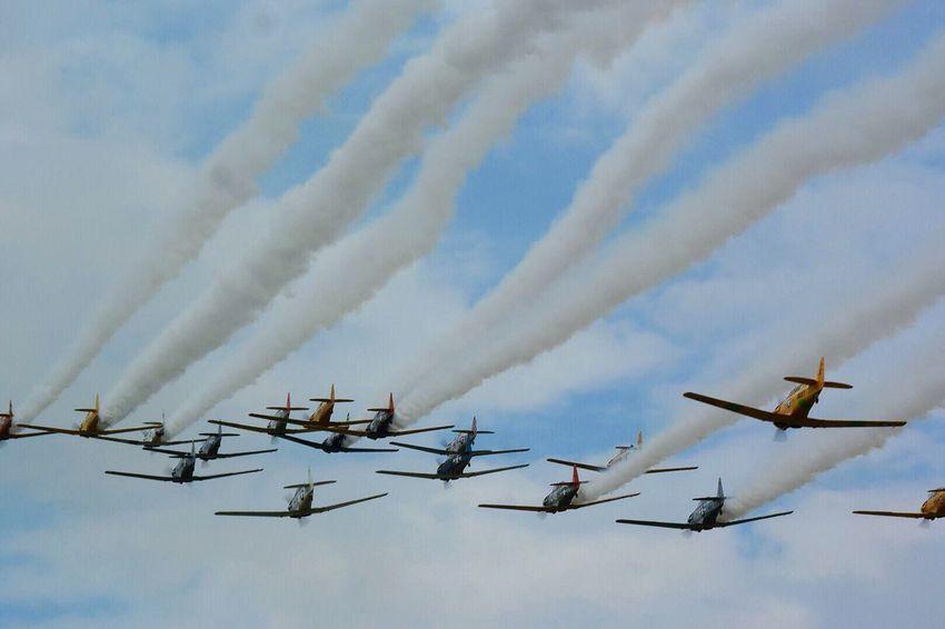 Sky Airplane Airshow Fighter Plane Flying Oshkosh2017 Military Airplane Warbirds Eaa Eaa2017