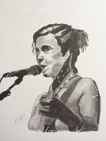 Kristin Hersh, singer/guitarist/song writer of Throwing Muses and 50ft Wave. Been a fan since I was 11! ArtWork Myartwork Art #illustration #drawing #draw #tagsforlikes #picture #photography #artist #sketch #sketchbook #paper #pen #pencil #artsy #in Live Music