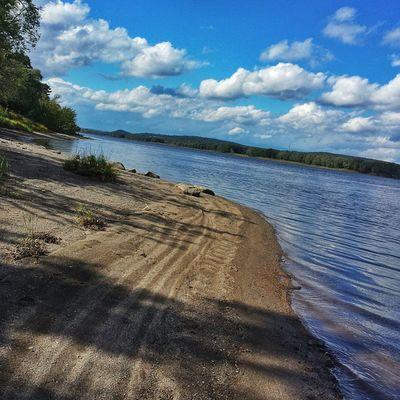 Fredericton Beach • TstMoments Stumbled on this little beach next to the river yesterday. Beautiful spot! • Tstcanada with @explorecanada • Travel Canada NewBrunswick •