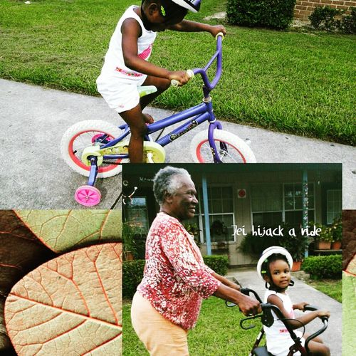 Live To Learn Hijacking A Ride Because You Can't Let Yours Go Learning To Ride Their Bike