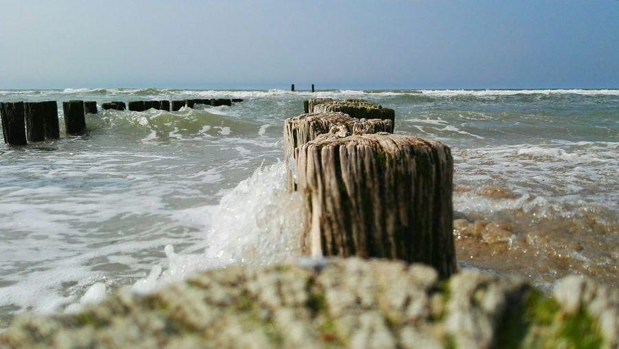 Sunshine Sea Beach Relaxing Strand Sea And Sky Nederland Holland Domburg  Domburg, Nederland The Great Outdoors - 2017 EyeEm Awards