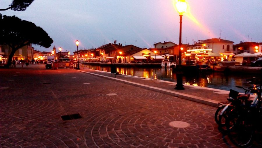 Cesenatico Italy Cesenatico Freedom Night Day Bicycle City Water People Nightlife Trip Be Free Tourism Free Walk Culture Trip Photo Architecture High Light Travel Destinations Town Pier Reflection Illuminated EyeEmNewHere