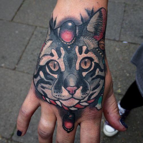 Coveruptattoo Cattoo Cattattoo Black Cat Tatt69