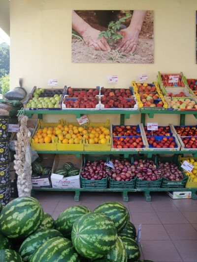 Sami Cefalonia 2017 Variation Food And Drink Food For Sale Choice Indoors  Retail  Market Large Group Of Objects Day No People Freshness Abundance Healthy Eating Vegetable Multi Colored Store Fruit Price Tag Close-up Femalephotographerofthemonth 43GoldenMoments