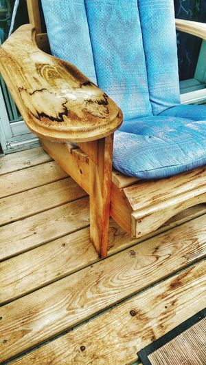 Relaxing Time Wooden Chair Adirondackchairs Country Living No People Wooden Wood - Material