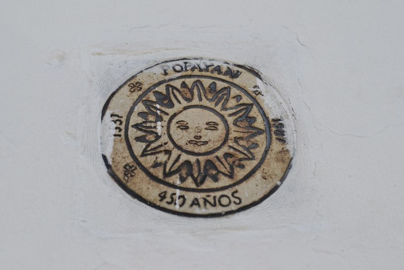 450yrs Old Ornament Popayán Wall Close-up Communication Day No People Outdoors Sun Text