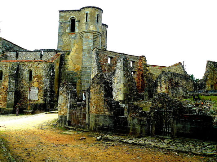 Ancient Architecture Bombed Out Building Building Exterior History Military Outdoors War