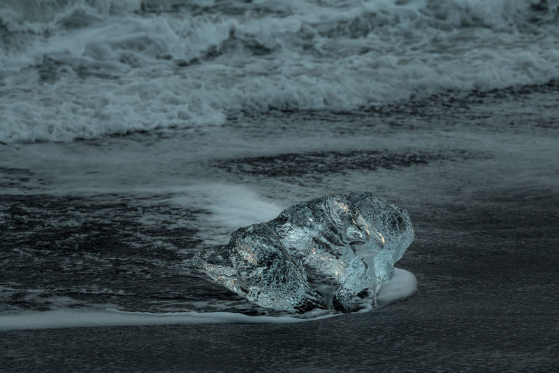 Ice Beachphotography Iceland Frozen Cold Temperature