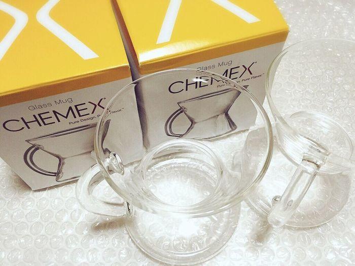 Chemex Glass Mug Glasses Glass Coffee Mug ケメックス Mug Cup