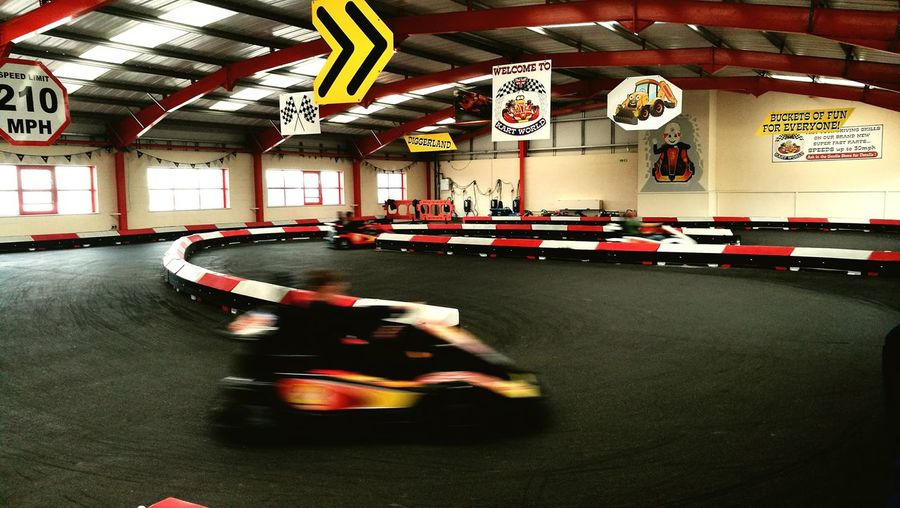Digger Land Gokart Gokarting GoKartRacing Speed Speedphotography Speedkart Castleford Fast Indoors