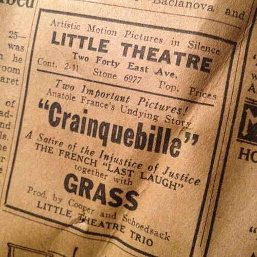 Little Theatre Found History Rochester