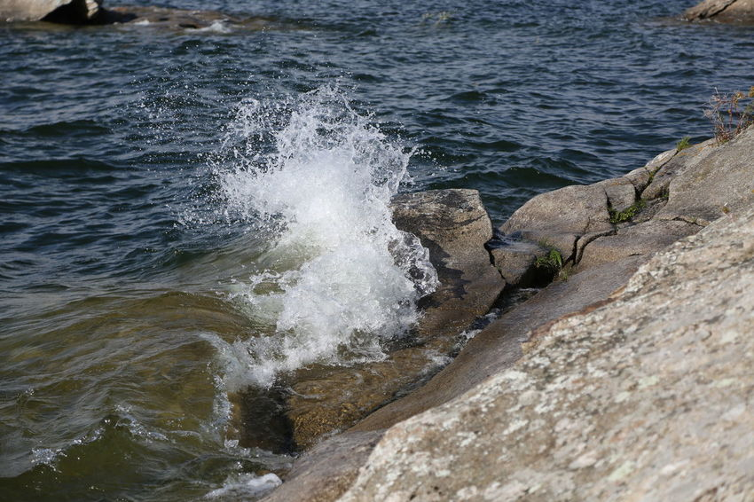 Beauty In Nature Day Motion Nature No People Outdoors Sea Water Wave