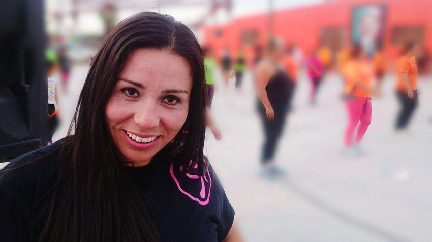 Claudia, mi compañera. Herbalife Zumba Fitness