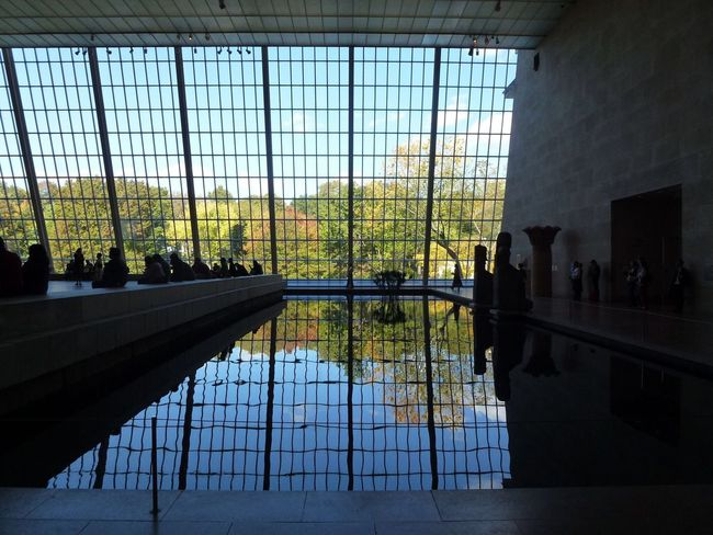 Beautiful reflection Inside the MET, NYC! Beautiful Reflection Inside The MET, NYC! Stunning Scenery The Metropolitan Museum Of Art Enjoying Life Beutiful Moments.  A Must Go Place Memorable Experience Nice View In New York City Travel Destinations Big Apple Hello World Amazing Architecture United States Big Apple View New York City Happy Moments Of Life Central Park When You Look From Different Angle Reflections In The Water Reflection Reflection Photography