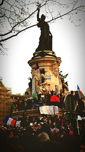 Paris... capital city of the world ! I'm Charlie Jesuischarlie Charliehebdo LibertéDexpression Liberty 2015  Hello World 11janvier2015 Enjoying Life