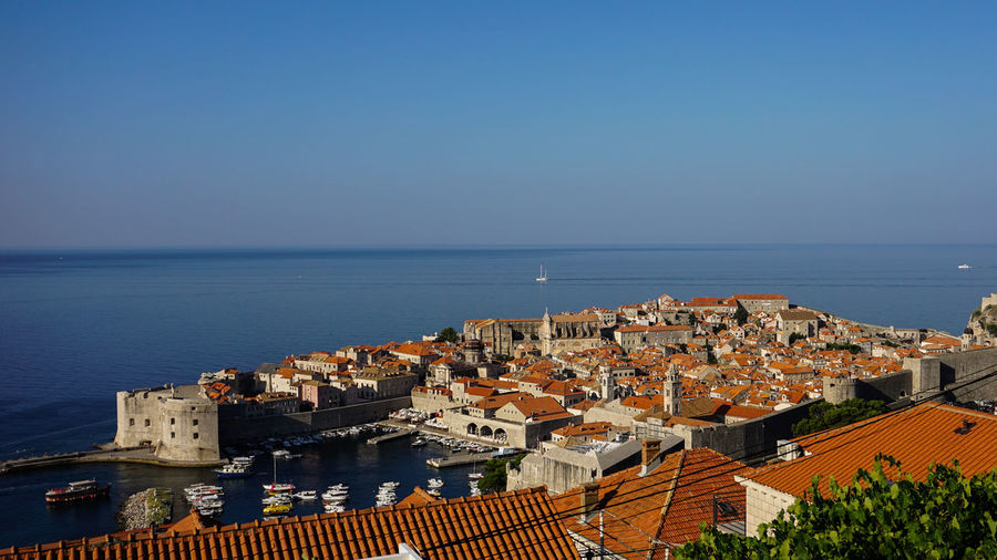 The old town of dubrovnik, croatia.