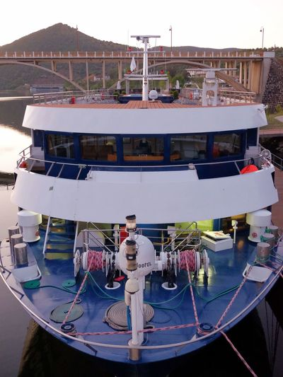 River ship prow Standing Architecture Water Day Nature Nautical Vessel Transportation Mode Of Transportation