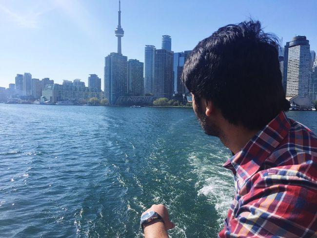 Toronto skyline Toronto Canada Lakeontario  Northamerica Cntower