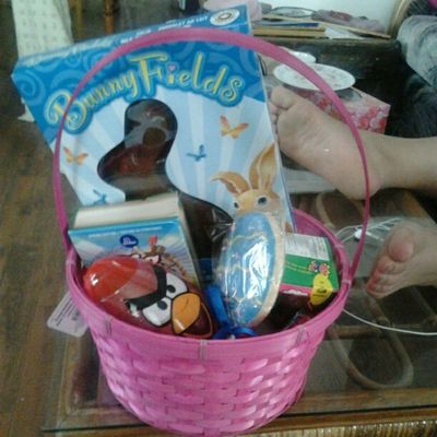 Ilovemymom From  Mom Mommy easter basket chocolate candy