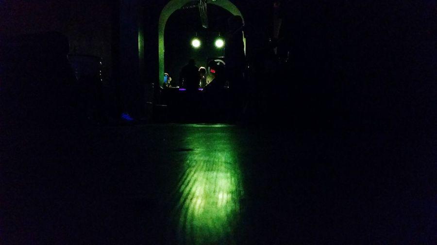 Church in the dark