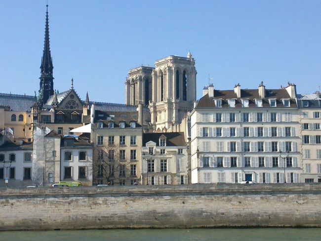 Notre Dame Paris Cathedral Cathedrale