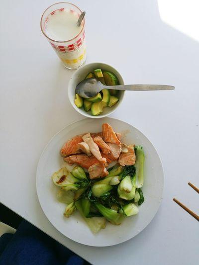 Salmon Avocado Breakfast ♥