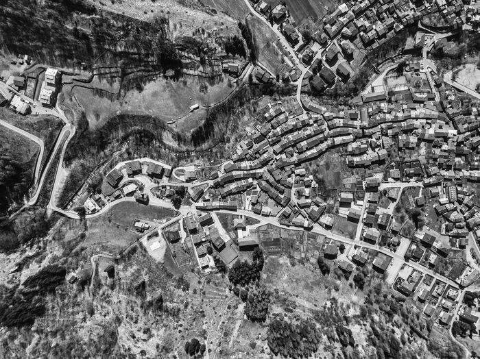 Aerial photograph of the town of Entracque, Gesso valley (Piedmont, Italy) Aerial View Architecture Built Structure Building Exterior High Angle View Day History The Past Industry Building City Outdoors Environment Residential District Archaeology Travel Nature No People Aerospace Industry Aerial Photography Aerial Shot Aerial Landscape Dronephotography Drone Photography Drone  Cityscape City Mountain Entracque Valle Gesso Piemonte Italy Cuneo Luca Prestia Blackandwhite Black And White Street Above Summertime Houses Buildings EyeEm Best Shots EyeEm Nature Lover EyeEm Selects From The Sky Airplane From The Airplane Documentary Photography Mapping Valley