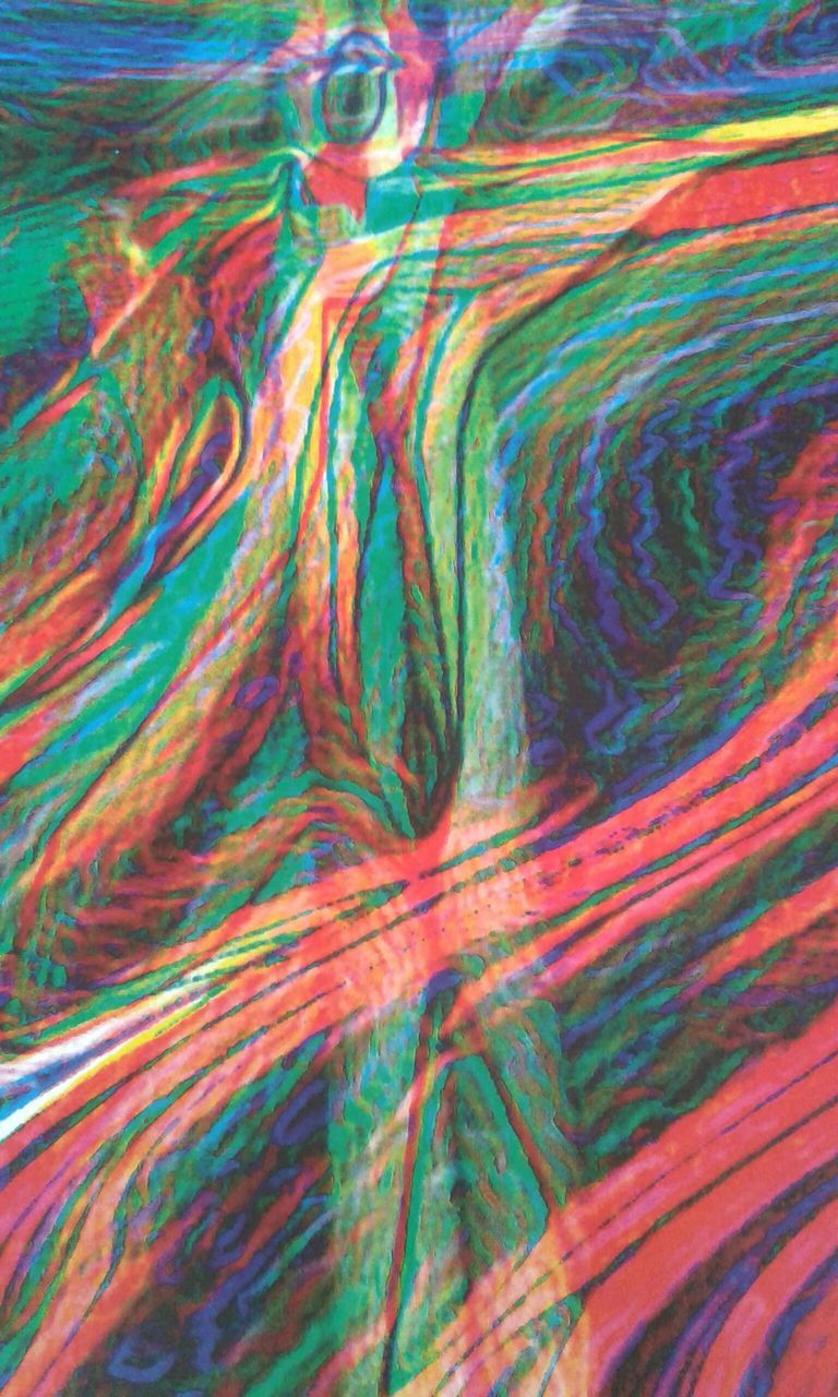 abstract, multi colored, full frame, backgrounds, pattern, textured, green color, science, no people, ink, close-up, day