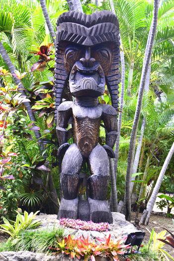 Hawaii Hawaii Culture Hawaii Legend Hawaii Life Statue Alohastate Human Representation Representation Statue Tiki Tiki God