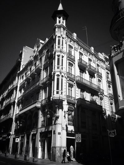 Black And White Streetphotography Architecture
