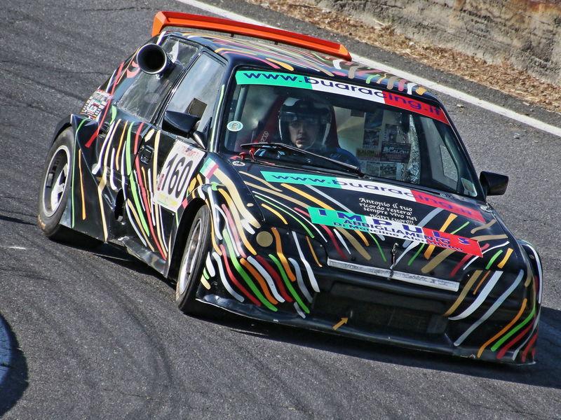 Citroen ax.... Corsa Auto Cronoscalata Gara Multi Colored Outdoors Potenza Velocità